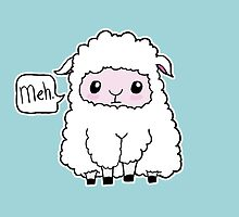 Meh. Sheep of Indifference by spectralstories
