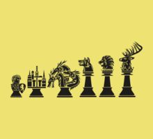 Chess of Thrones Kids Clothes