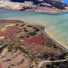 Ralphs Bay Inlet from the air - Tasmania by clickedbynic