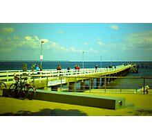 Sea bridge - NeinGrenze Photographic Print