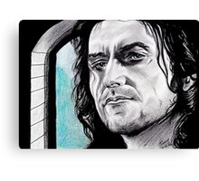 Richard Armitage, suspicious Gisborne Canvas Print