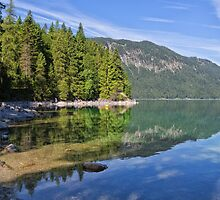 Lake Eibsee by Yair Karelic