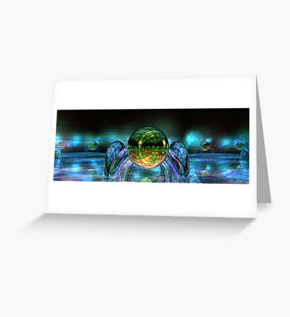 Multiple Reflections Greeting Card