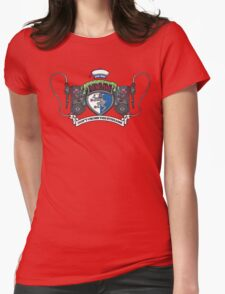 Venkman Family Crest Womens Fitted T-Shirt