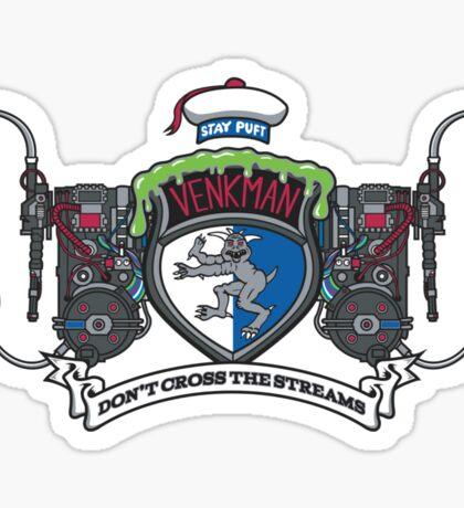 Venkman Family Crest Sticker