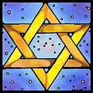 Stained Glass Star by Amy-Elyse Neer
