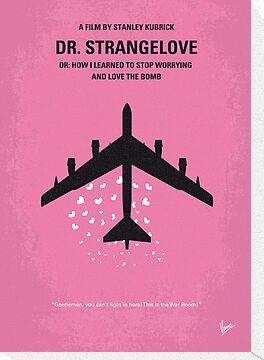 No025 My Dr Strangelove minimal movie poster by Chungkong