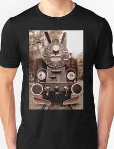 Antique locomotive sepia toned T-Shirt