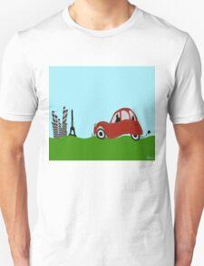 Driving to Paris T-Shirt