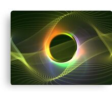 Radiowave Canvas Print