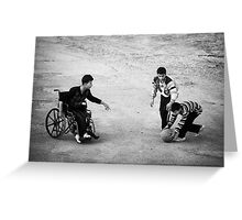 Streetball Greeting Card