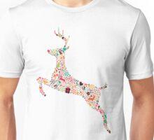 Christmas Reindeer 3 Unisex T-Shirt