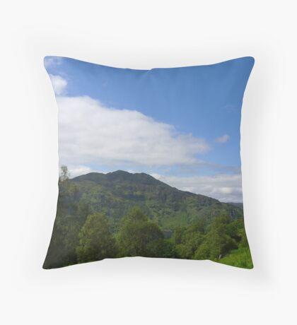 Hillside View Throw Pillow