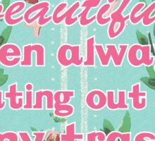 Darn Beautiful Men - Gravity Falls Sticker