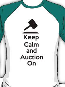 Keep Calm - Auction T-Shirt