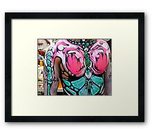 Tattoo Painted Punk Framed Print