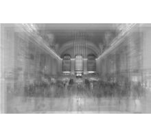 Grand Central Terminal Overlay Photographic Print
