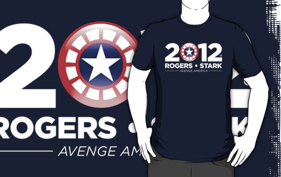 Vote Rogers & Stark 2012 (White Text) by Eozen