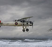 Fairey Swordfish - 'Hide and Seek' by Pat Speirs