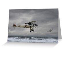 Fairey Swordfish - 'Hide and Seek' Greeting Card