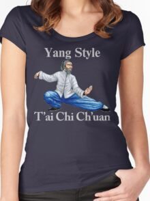 Yang T'ai Chi Ch'uan T-Shirt Women's Fitted Scoop T-Shirt