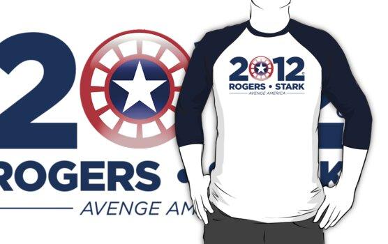 Vote Rogers & Stark 2012 (Blue Text) by Eozen
