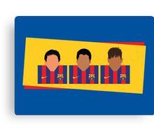 Messi, Suárez, Neymar - Barcelona Canvas Print