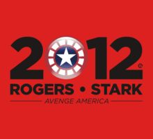 Vote Rogers & Stark 2012 (Black Text) Kids Clothes