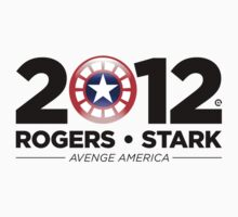 Vote Rogers & Stark 2012 (Black Text) by Eozen
