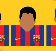 Messi, Suárez, Neymar - Barcelona Sticker