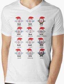 GNOMES! Mens V-Neck T-Shirt