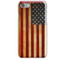 American flag usa iPhone Case/Skin