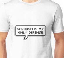"Teen Wolf - "" Sarcasm is my only defense "" Unisex T-Shirt"