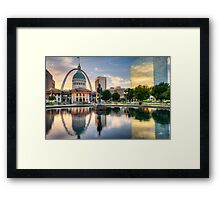 St. Louis Reflections Framed Print