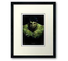 Polygon HULK Framed Print