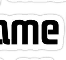 CallmeWaitforit(Black) Sticker