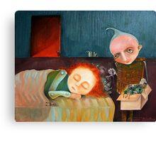 Bad Dreams Catcher Canvas Print