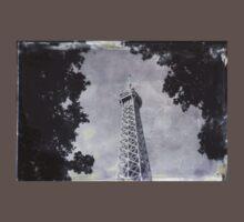 Eiffel Tower Wet Plate One Piece - Short Sleeve