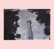 Eiffel Tower Wet Plate One Piece - Long Sleeve