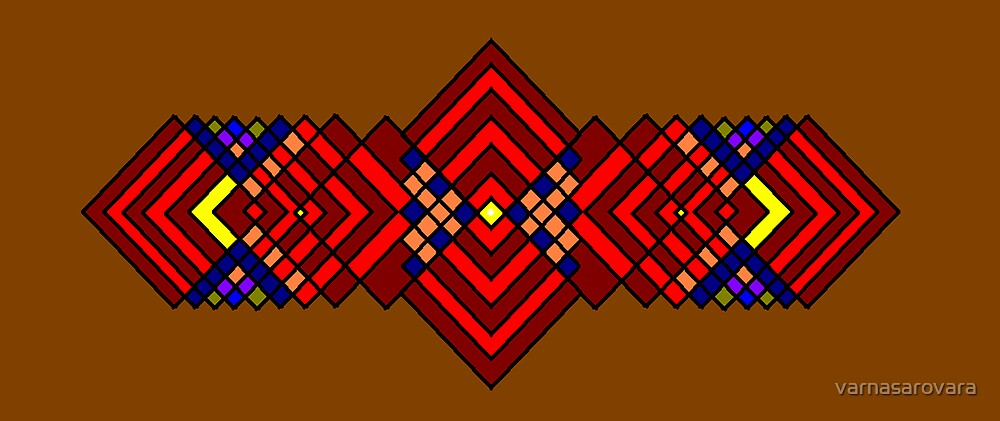 Intersecting Parallels  by varnasarovara