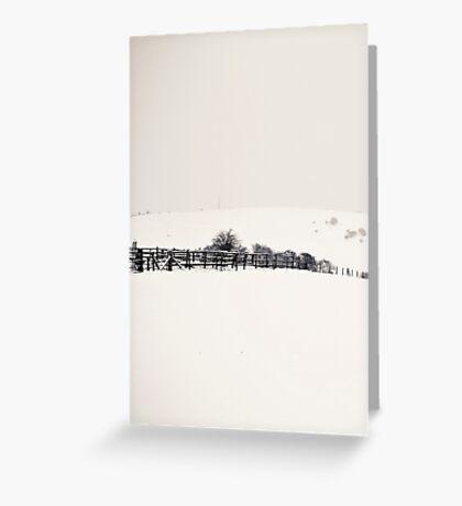 "Surreality ""J"" Greeting Card"