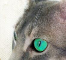 "Cat Eye ""Ho! Ho! Ho!"" Sticker"