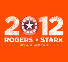 Vote Rogers & Stark 2012 (White Vintage) Kids Tee