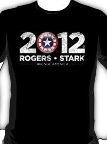 Vote Rogers & Stark 2012 (White Vintage) T-Shirt