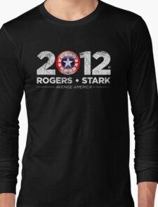 Vote Rogers & Stark 2012 (White Vintage) Long Sleeve T-Shirt