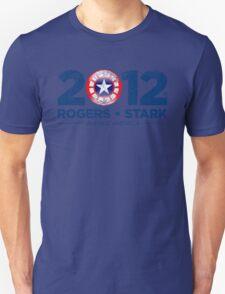 Vote Rogers & Stark 2012 (Blue Vintage) Unisex T-Shirt