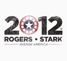 Vote Rogers & Stark 2012 (Black Vintage) by Eozen