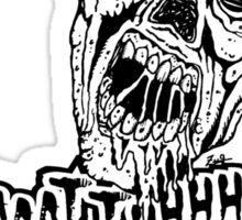 Zombie Bath Salts Sticker
