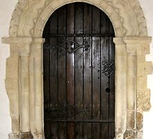 Church doorway by KatDoodling
