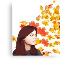 Clara Oswald: Impossible Girl Canvas Print